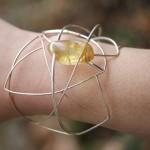 Bracelet Araneidae  de la créatrice  la créatrice de bijoux Garance BRIN