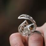 Bague Araneidae de la créatrice de bijoux Garance BRIN