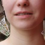 Boucles d'oreilles Araneidae de la créatrice de bijoux Garance BRIN