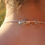 Fermoir du pendentif Cocon d'Araneidae de la créatrice  la créatrice de bijoux Garance BRIN