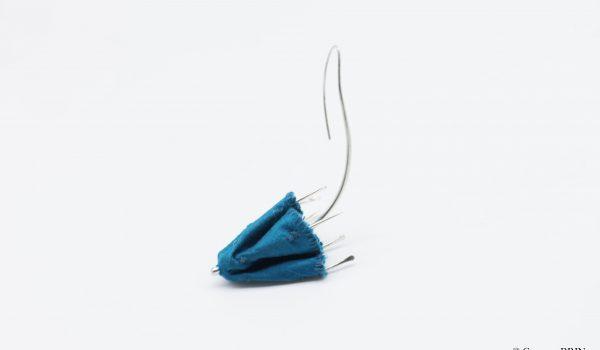 Boucles d'oreilles envole du parapluie Bijoux contemporains Garance BRIN pièce unique