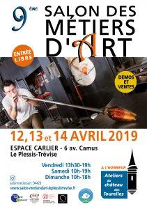 Salon des métiers d'art du Pléssis-Trévise Garance BRIN Bijoux contemporains