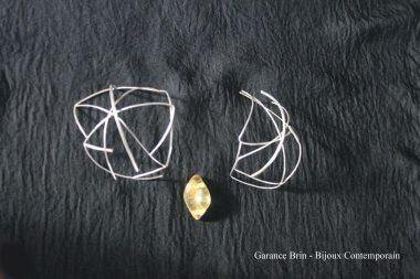 Photos de bijoux de la bijoutière Garance Brin